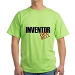 Off Duty Inventor Green T-Shirt