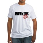 Off Duty Inventor Fitted T-Shirt