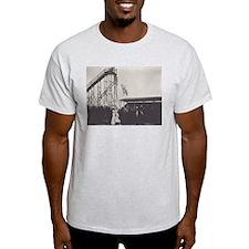 Diving Horse Ash Grey T-Shirt
