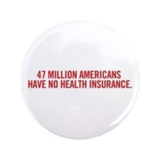 "Unique Socialized medicine 3.5"" Button"