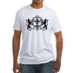 Acadian Cajun Crest Fitted T-Shirt