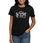 Acadian Cajun Crest Women's Dark T-Shirt