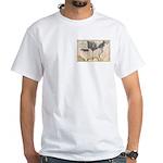 1861 Map White T-Shirt