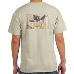 1861 Map Light T-Shirt