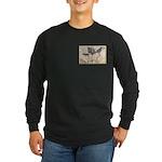1861 Map Long Sleeve Dark T-Shirt