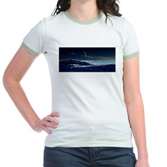 Saturn View Jr. Ringer T-Shirt