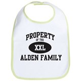 Property of Alden Family Bib