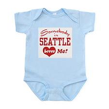 Somebody in Seattle Loves Me Infant Bodysuit