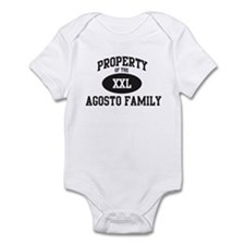 Property of Agosto Family Infant Bodysuit
