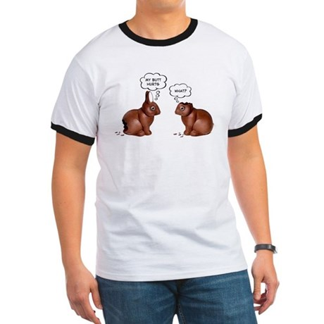 Chocolate Easter Bunnies Ringer T