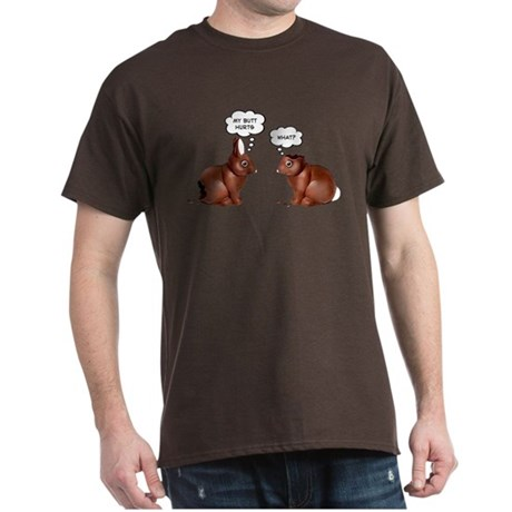 Chocolate Easter Bunnies Dark T-Shirt