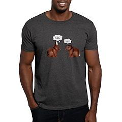 Chocolate Easter Bunnies Dark T-Shirt