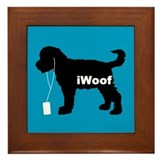 iWoof Schnoodle Framed Tile