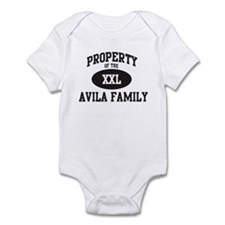 Property of Avila Family Infant Bodysuit