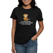 Funny Sarcastic Monkey Tee