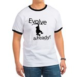 Evolve Already! Monkey Ringer T