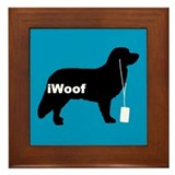 iWoof Toller Framed Tile