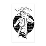 Lander Rectangle Decal
