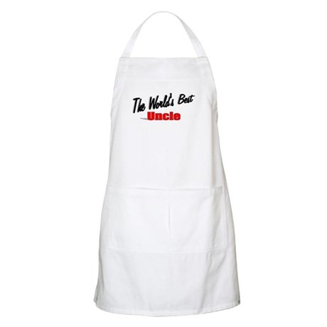 &quot;The World's Best Uncle&quot; BBQ Apron