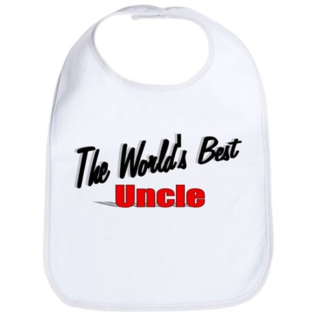 &quot;The World's Best Uncle&quot; Bib