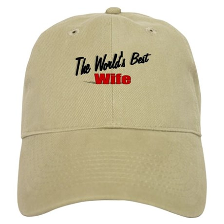 """The World's Best Wife"" Cap"