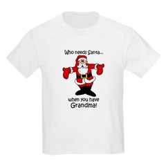 Who needs Santa Kids Light T-Shirt