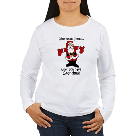 Who needs Santa Women's Long Sleeve T-Shirt