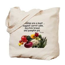 Case for Veggies! Tote Bag