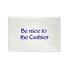 Cashier Rectangle Magnet (10 pack)
