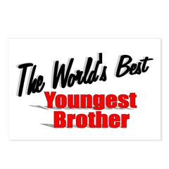 """The World's Best Youngest Brother"" Postcards (Pac"