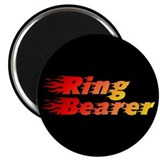 "Ring Bearer - Blazed 2.25"" Magnet (100 pack)"