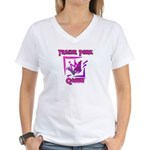 Trailer Park Queen Women's V-Neck T-Shirt