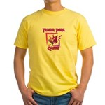 Trailer Park Queen Yellow T-Shirt