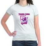 Trailer Park Queen Jr. Ringer T-Shirt