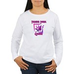 Trailer Park Queen Women's Long Sleeve T-Shirt