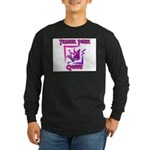 Trailer Park Queen Long Sleeve Dark T-Shirt