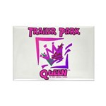 Trailer Park Queen Rectangle Magnet (100 pack)