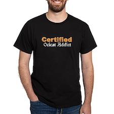 Certified Ocicat Addict T-Shirt