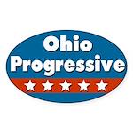 Ohio Progressive Bumper Sticker