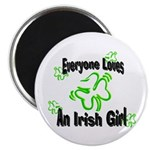 Everyone loves an Irish Girl Magnet