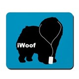 iWoof Chow Mousepad