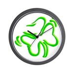Shamrock Irish Gifts Wall Clock