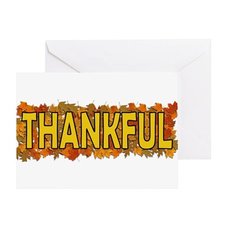 Thankful Thanksgiving Greeting Card