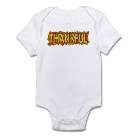 Thankful Thanksgiving Infant Bodysuit