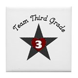 Team Third grade Tile Coaster