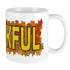 Thankful Thanksgiving Mug