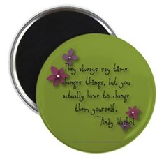 Warhol Quote Magnet