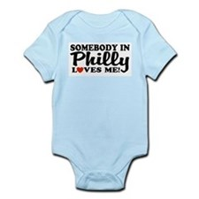 Somebody in Philly Loves Me Infant Bodysuit