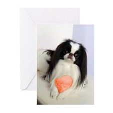 Japanese Chin Toy Greeting Cards (Pk of 10)