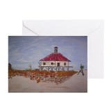 West Rigolets Lighthouse Greeting Cards (Pk of 10)